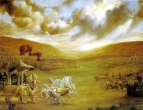 Бхагавад-гита: Кришна и Арджуна на бойното поле